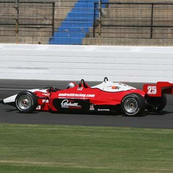 Drive an Indy car! Or maybe just ride in one around the Indianapolis Motor Speedway!