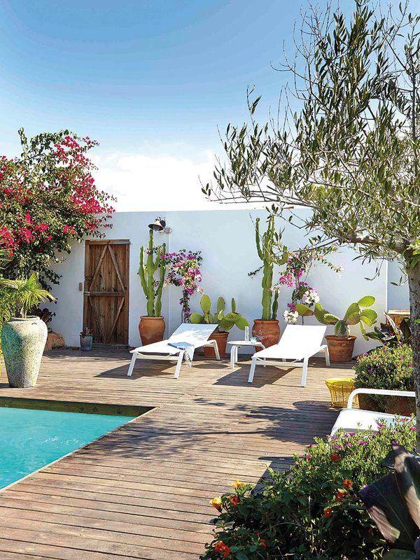 Mejores 207 im genes de jardines y terrazas en pinterest for Decoracion de terrazas y jardines