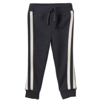 Baby+Boy+Jumping+Beans+Side-Stripe+Fleece+Jogger+Pants