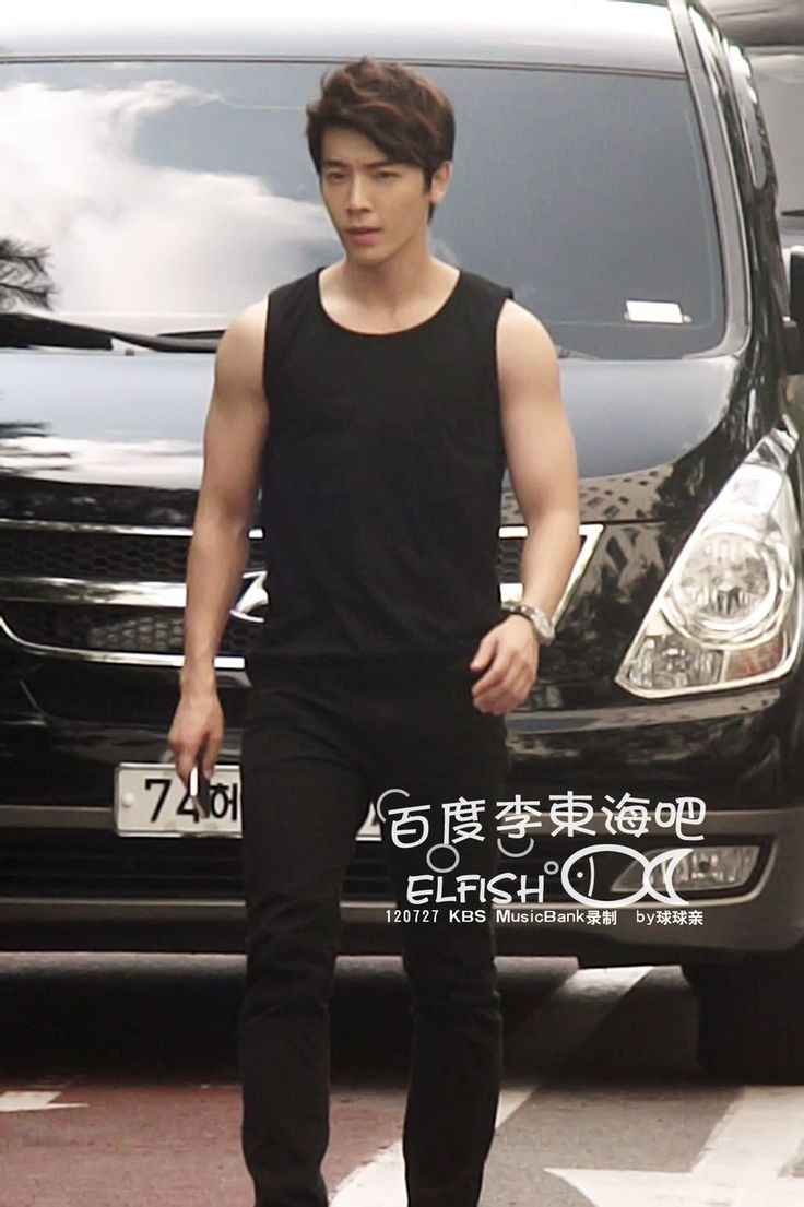 Lee Donghae ^so freaking hot those arms thou