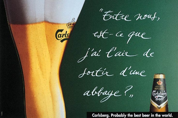 Read more: https://www.luerzersarchive.com/en/magazine/print-detail/carlsberg-5407.html Carlsberg Now really, do I look as if I came from an abbey? Tags: Pascal Demeester,Proximity BBDO, Brussels,Christina Gesulfo,Vincent Abrams,Carlsberg