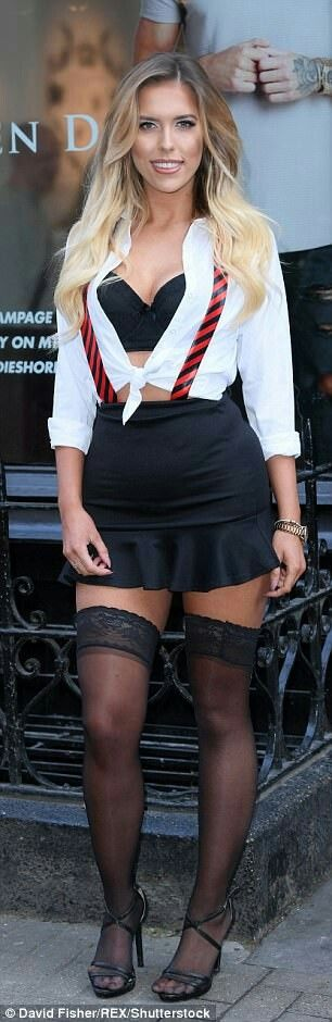 Eve Shannon from Geordie Shore