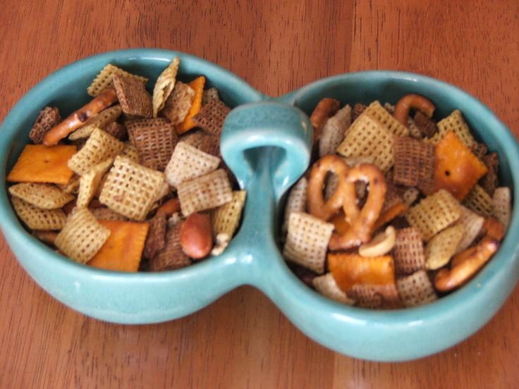 Oven-baked Chex Mix