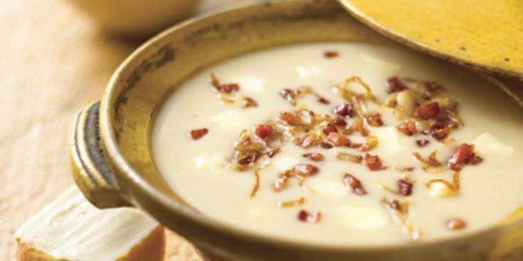 Soupe de haricots blancs