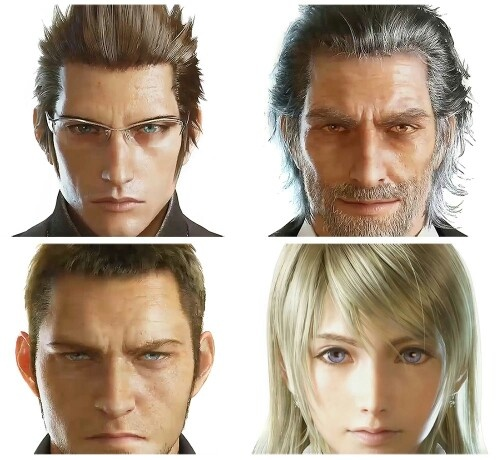 Character Design Final Fantasy Xv : Images about d character on pinterest models