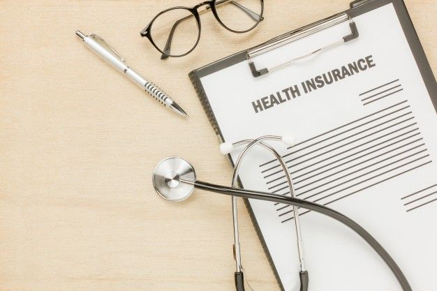 Download Top View Health Insurance Form And Eyeglasses With