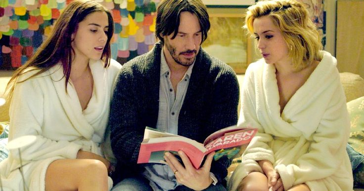 'Knock Knock' Trailer #2 Has Keanu Reeves in a Threesome Nightmare -- A devoted father makes the biggest mistake of his life in the latest trailer for director Eli Roth's 'knock Knock', in theaters this fall. -- http://movieweb.com/knock-knock-movie-trailer-2-keanu-reeves/