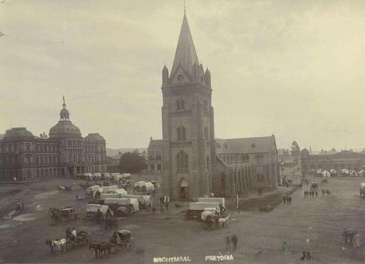 Nagmaal, Kerkplein, 1900