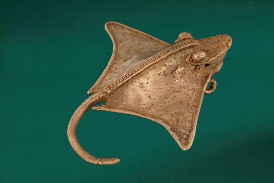 Stingray Bell Pendant | The Museum of Fine Arts, Houston