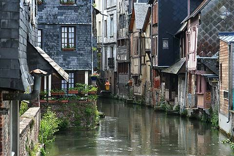 Pont-Audemer, Normandy, France. Photo de Pont-Audemer de Eure