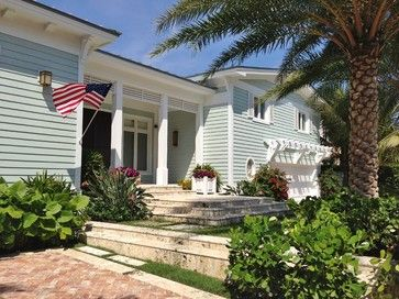 Seafoam Bungalow Traditional Exterior Miami Tuthill Architecture Beach Dreams