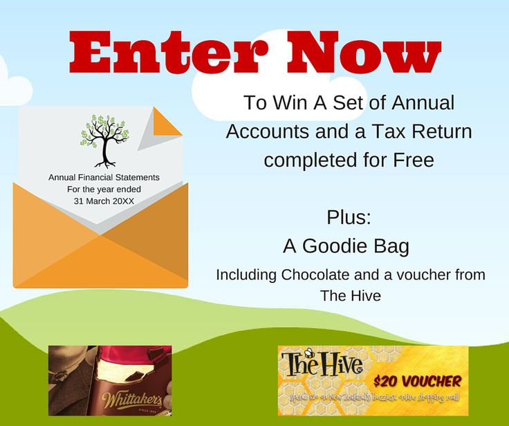 Enter to win: A Set of Annual Accounts