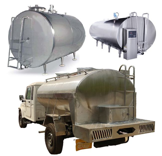 Road Milk Tanker Price Small Trucks Manufacturing Milk Coolers