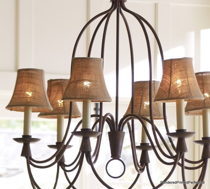 Pottery Barn Mini Lamp Shades: Pinterest: Discover And Save Creative Ideas