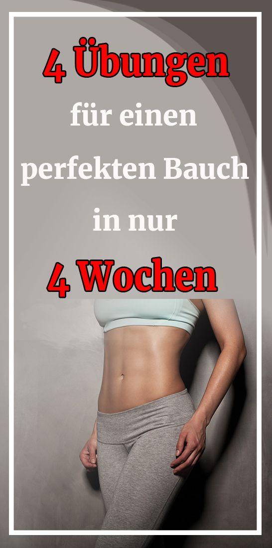 Diese 4 Übungen werden Ihnen helfen, einen perfekten Bauch in nur 4 Wochen zu erhalten