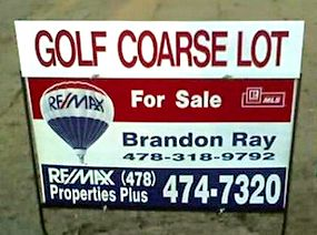 Proof reading is a wonderful thing. Funny real estate humor.