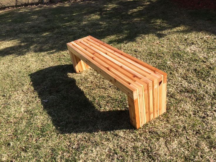 Superb Exterior, Angelic Diy Patio Bench In Minimalist Style Made Of Wooden  Material For Large Garden Furniture In Brown With Fair Seat And Legs For  Kids And ...