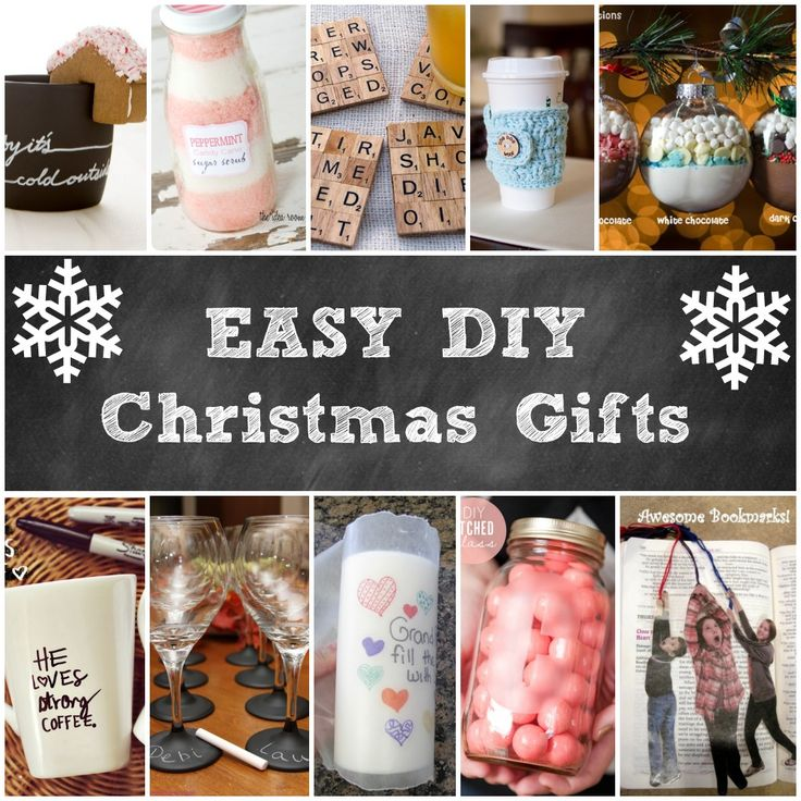 Easy DIY Christmas Gifts - featured