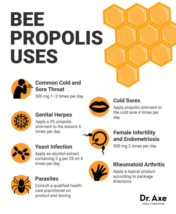Top 6 Bee Propolis Benefits & Bee Propolis Uses - Dr. Axe