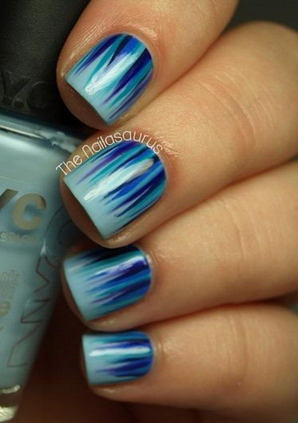 Easy Nail Designs for Beginners, http://hative.com/easy-nail-designs-for-beginners/,