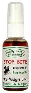 Natural midge repellent  made with bog myrtle -  it's traditionally Scottish.  I prefer Incognito.