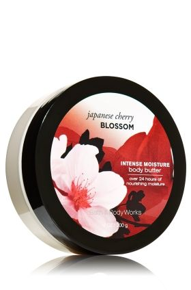 Japanese Cherry Blossom Body Butter - Signature Collection - Bath & Body Works