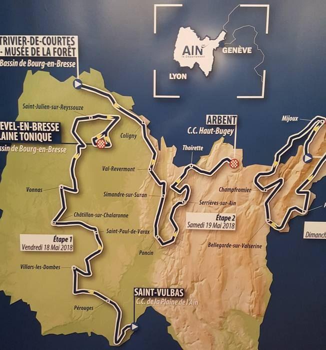Le Tour de l'Ain 2018 fait peau neuve pour sa 30e édition  https://todaycycling.com/le-tour-de-lain-2018-col-faucille-lelex/  #2018, #ColDeLaFaucille, #Giro2018, #Lélex, #RomainBardet, #ThibautPinot, #TourDeLAin