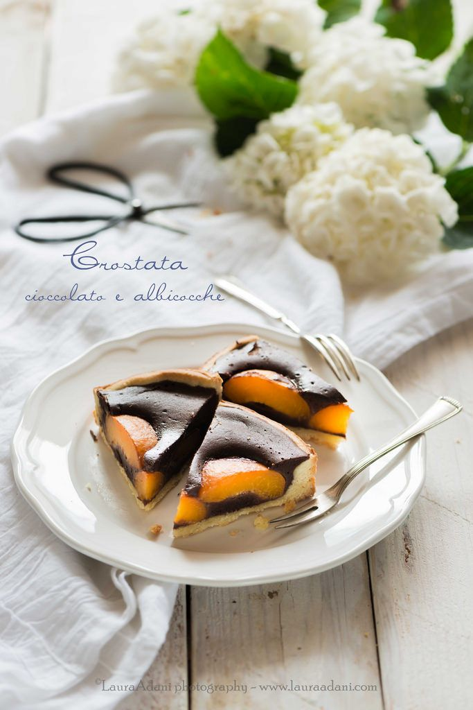 io...così come sono...: Crostata al cioccolato e albicocche . http://iocomesono-pippi.blogspot.it/2015/06/crostata-al-cioccolato-e-albicocche.html