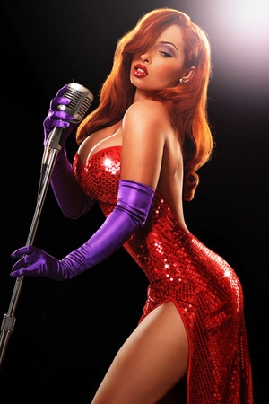 Holy giant Jasmine ponytail, we cannot rip our eyes away from this collection of real-life Disney princesses (and Jessica Rabbit, who isn't from true royal cartoon blood, but whatever) by photographer Ryan Astamendi.  (http://www.ryanastamendi.com/)