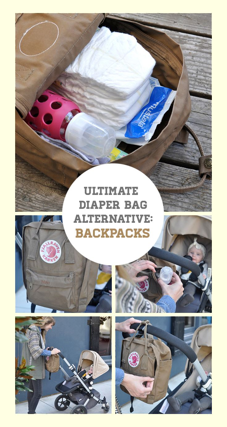 fjallraven kanken mini diaper bag
