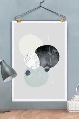 Dance Good Poster 1 en Affiche premium encadrée par Naxart | JUNIQE