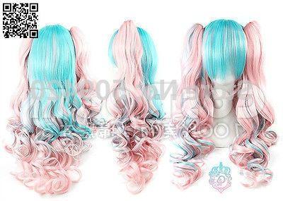 33.85$  Buy now - https://alitems.com/g/1e8d114494b01f4c715516525dc3e8/?i=5&ulp=https%3A%2F%2Fwww.aliexpress.com%2Fitem%2FFSX59858D-DPretty-Fashion-Lolita-Cosplay-Party-Wig-Hair-Long-Curly-Wig-2-x-Clip-On-Ponytail%2F32647541852.html - FSX59858D@DPretty Fashion Lolita Cosplay Party Wig Hair Long Curly Wig 2 x Clip On Ponytail W@ 33.85$