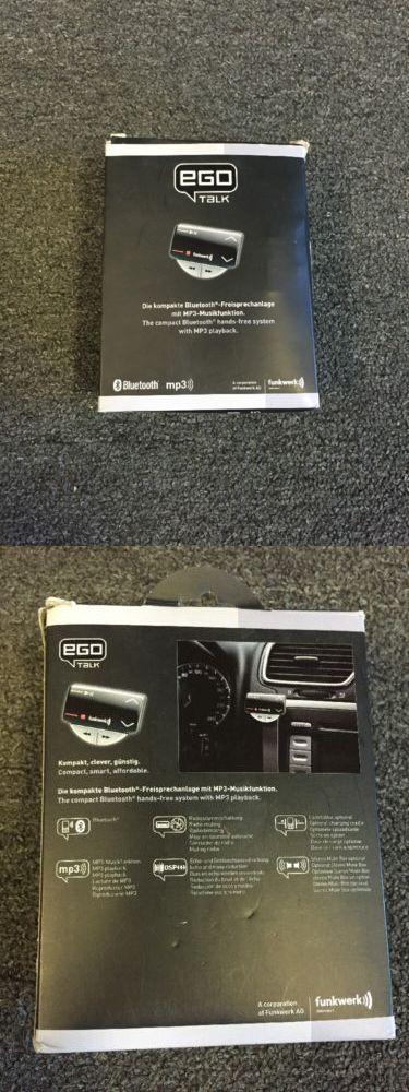 Bluetooth Handsfree Car Kits: Funkwerks Ego Talk Hands Free Bluetooth Kit -> BUY IT NOW ONLY: $50.0 on eBay!