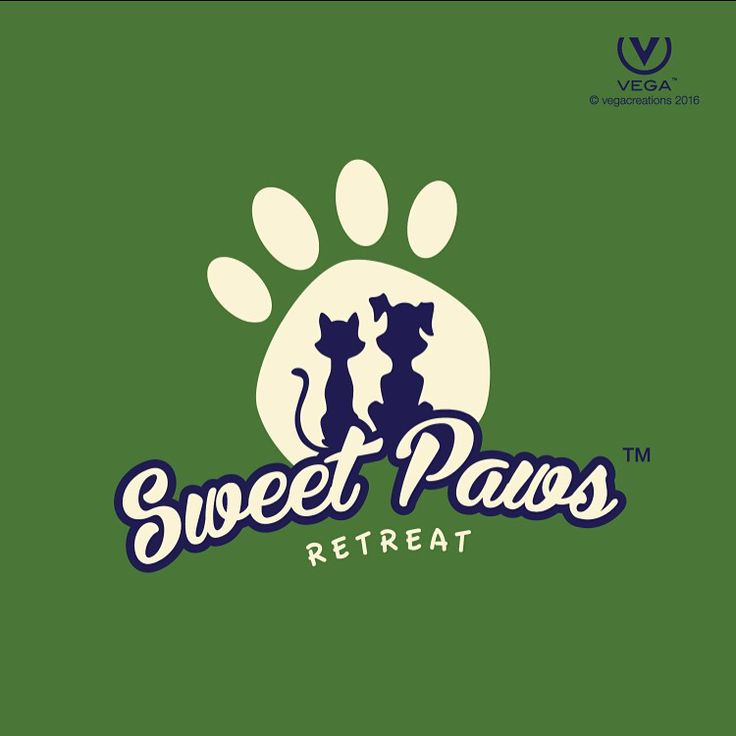 Need Boarding, Grooming and or Daycare for your beloved #pet ? Check out #SweetPawsRetreat #logo #design by #vegacreations
