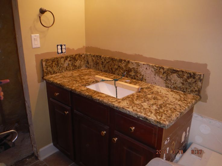 giallo napoli granite kitchen countertop install for the posey family knoxvilles stone interiors showroom