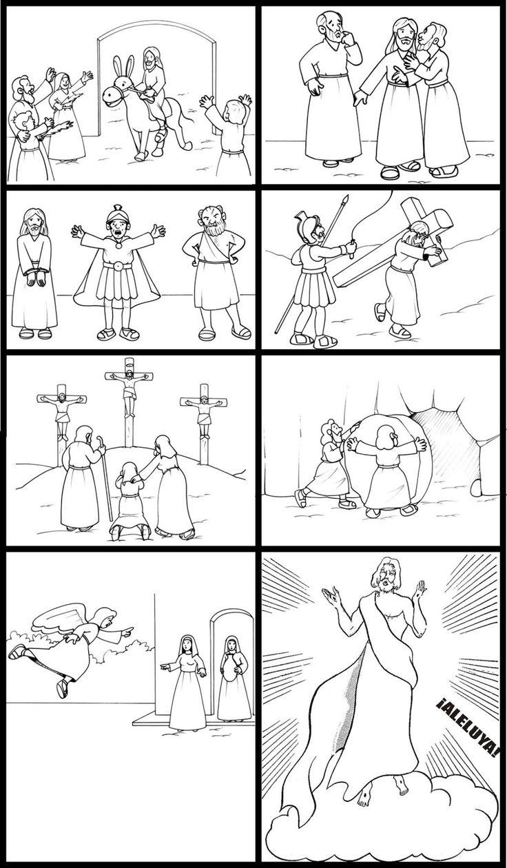 Asombroso Páginas Católicas Para Colorear Para Niños Adorno - Ideas ...