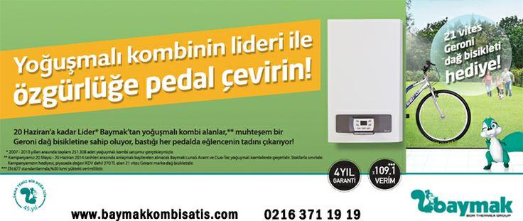 Eyüboğlu Isı Gaz Dağıtım Ltd.Şti şu şehirde: İstanbul, İstanbul www.baymakkombisatis.com  Sipariş ve Bilgi Hattı: 0216 371 19 19