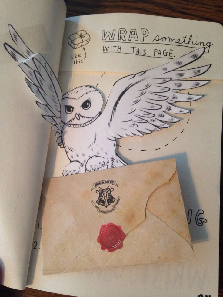 My journal. I'm a rebel and used the page inside the envelope to write a note to future Haley.