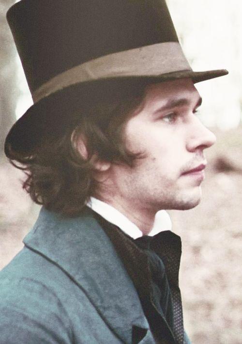 Ben Wishaw Top Hat Dickensian Dandy Bright Star Tailcoat Actor Regency Fashion
