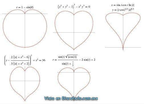 matematicas san valentin