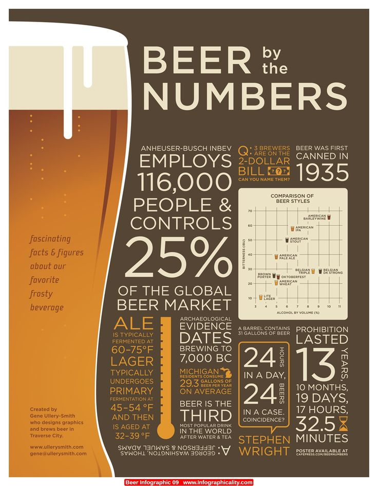 Infographics - Beer By The Numbers