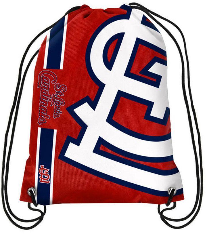 Forever Collectibles St. Louis Cardinals Big Logo Drawstring Bag