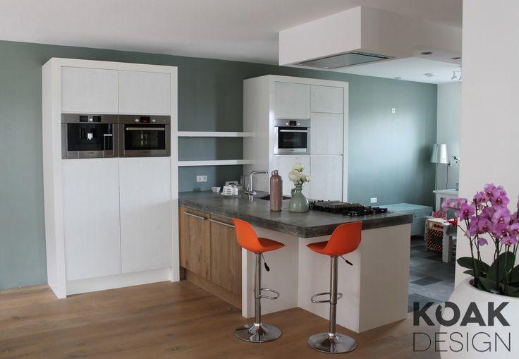 Keuken Design Zutphen : Koak Keuken massief hout wit geschilderd ...