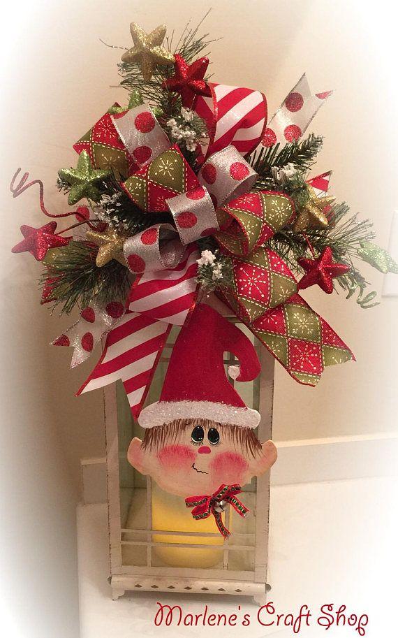 Die besten 25+ Christmas bow tree toppers Ideen auf Pinterest