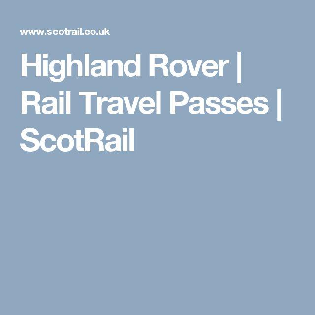 Highland Rover | Rail Travel Passes | ScotRail