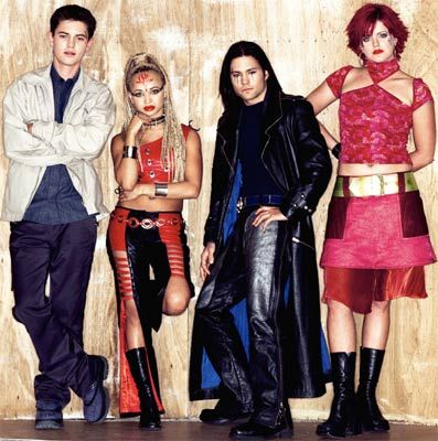 Jack / Ebony / Lex / Selene (The Tribe) great style