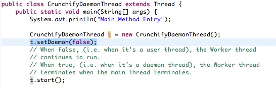 What is Daemon Thread in Java? Example Attached