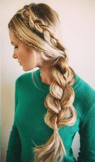 Peinados con trenza   Las trenzas estan de moda, si quieres aprender cómo hacer estas lindas trenzas de raíz o pegadas , no te pierdas este...