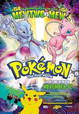 #Pokemon the First Movie. #Mewtwo vs #Mew and #PikachusVacation. http://www.pokemondungeon.com/pokemon-movies