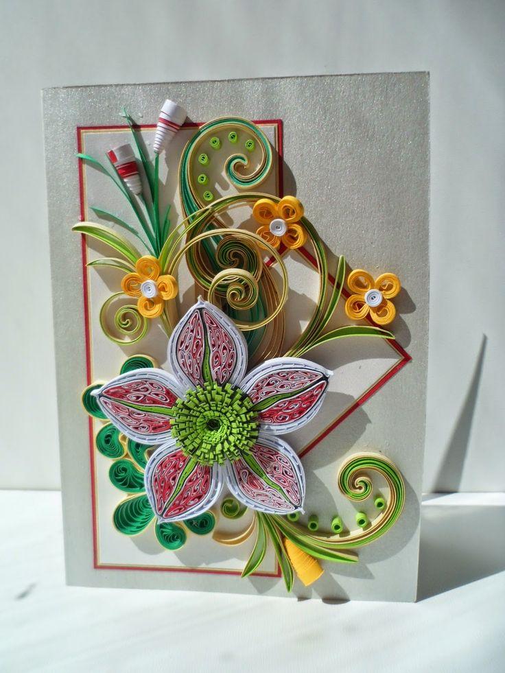 quillann saulainai dienai  paper quilling cards